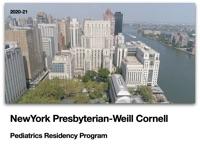 Cornell Peds Residency Program