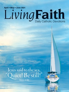 Living Faith April, May, June 2021 Book Cover