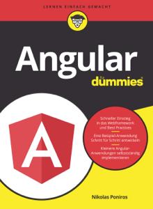 Angular für Dummies Buch-Cover