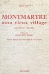 Montmartre Mon Vieux Village