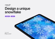 Lesson idea: Design a unique snowflake