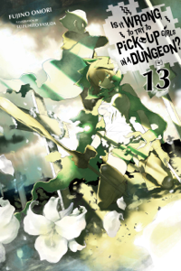 Is It Wrong to Try to Pick Up Girls in a Dungeon?, Vol. 13 (light novel) Boekomslag