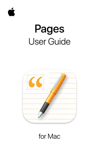Pages User Guide for Mac E-Book Download