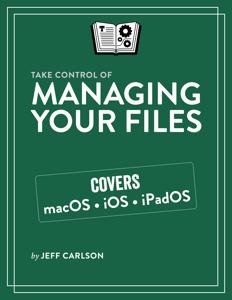 Take Control of Managing Your Files Copertina del libro
