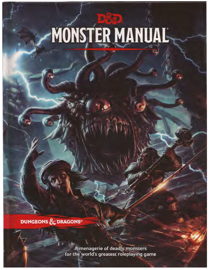 Dungeons & Dragons Monster Manual (Core Rulebook, D&D Roleplaying Game) (DnD 5e Monsters Manual)