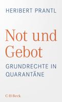 Heribert Prantl - Not und Gebot artwork
