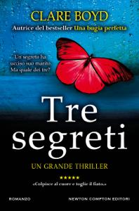 Tre segreti Libro Cover