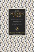 The Defining Verse Book Cover
