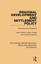 Regional Development And Settlement Policy