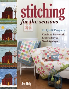Stitching for the Seasons Book Cover