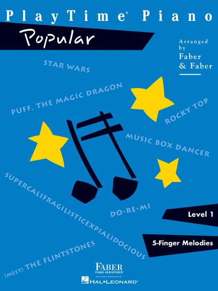 PlayTime Piano Popular - Level 1