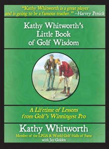 Kathy Whitworth's Little Book of Golf Wisdom Book Cover