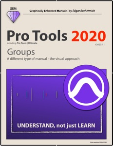 Pro Tools 2020 - Groups