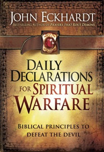 Daily Declarations for Spiritual Warfare Book Cover