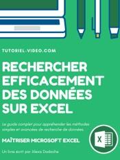 Rechercher efficacement des données sur Excel