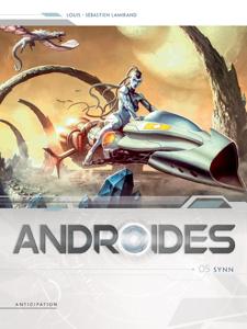 Androïdes T05 La couverture du livre martien