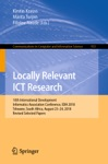 Locally Relevant ICT Research
