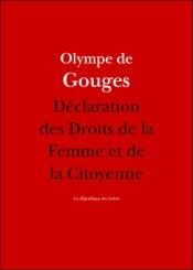 Download Déclaration des Droits de la Femme et de la Citoyenne