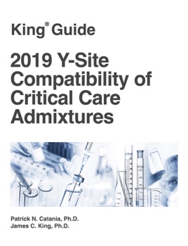 2019 Y-Site Compatibility of Critical Care Admixtures on ...