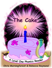 Download and Read Online The Cake - A Level One Phonics Reader