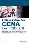 31 Days Before your CCNA Exam: A Day-By-Day Review Guide for the CCNA 200-301