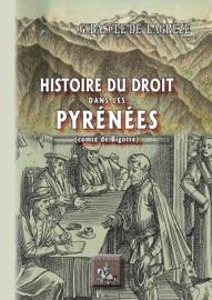Histoire Du Droit Dans Les Pyr N Es