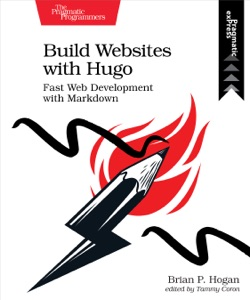 Build Websites with Hugo Book Cover