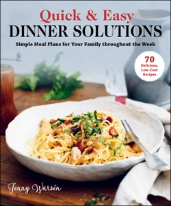 Quick & Easy Dinner Solutions Book Cover