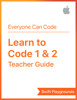 Apple Education - Swift Playgrounds: Learn to Code 1 & 2 artwork