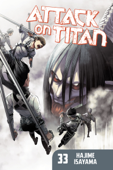 Attack on Titan volume 33 Book Cover