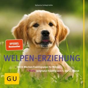 Welpen-Erziehung von Katharina Schlegl-Kofler Buch-Cover