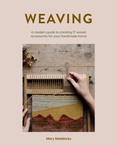 Weaving Boekomslag