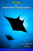 101 Tips for Underwater Photographers Book Cover