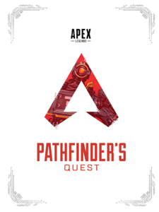 Apex Legends: Pathfinder's Quest (Lore Book) Copertina del libro