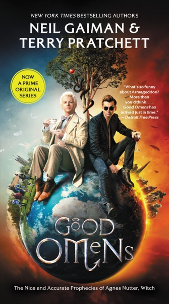 Good Omens - Neil Gaiman & Terry Pratchett book cover