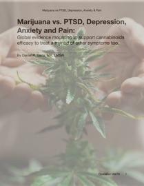 Marijuana Vs Pain Anxiety And Depression