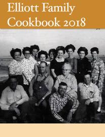 Elliott Family Cookbook 2018 book