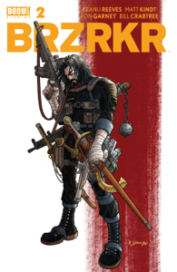 BRZRKR #2 Libro Cover