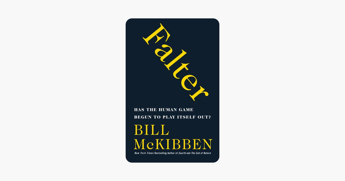 Falter - Bill McKibben