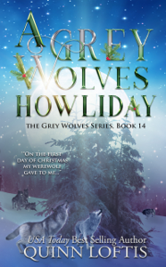 A Grey Wolves Howliday Book Cover