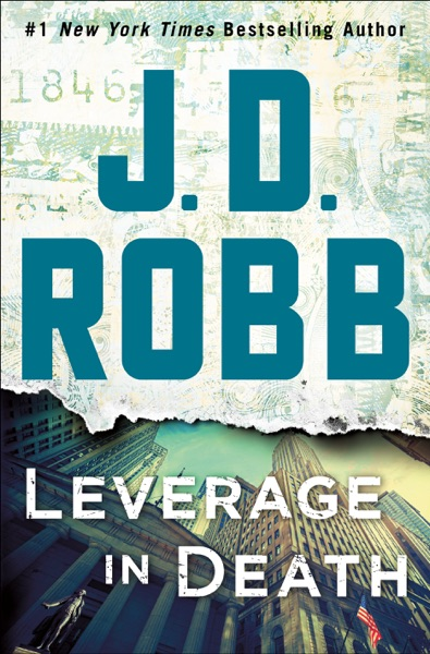 Leverage in Death - J. D. Robb book cover