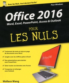 Office 2016 pour les Nuls grand format - Wallace Wang