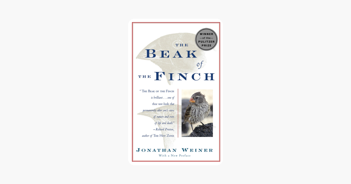 The Beak of the Finch - Jonathan Weiner