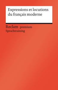 Expressions et locutions du français moderne Buch-Cover