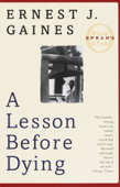 A Lesson Before Dying Book Cover