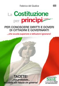 La Costituzione per princìpi Copertina del libro