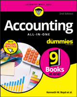 Kenneth W. Boyd - Accounting All-in-One For Dummies with Online Practice artwork