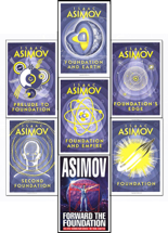 The Complete Isaac Asimov's Foundation Series : Foundation, Foundation and Empire, Second Foundation, Foundation's Edge, Foundation and Earth, Prelude to Foundation, Forward the Foundation.