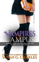Vampires on Campus: A New Adult College Vampire Romance, Vampires, Beer and Midterms Too at Ohio State  University
