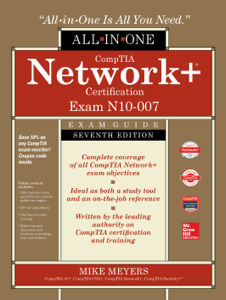 CompTIA Network+ Certification All-in-One Exam Guide, Seventh Edition (Exam N10-007) Cover Book